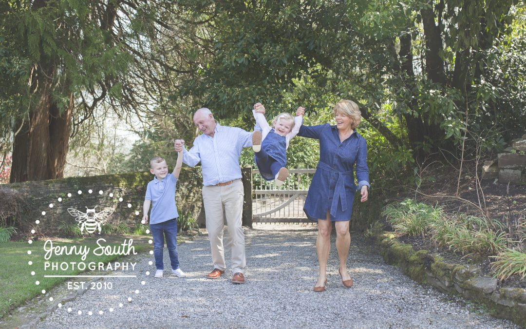The Jennings Family Shoot at Cotehele